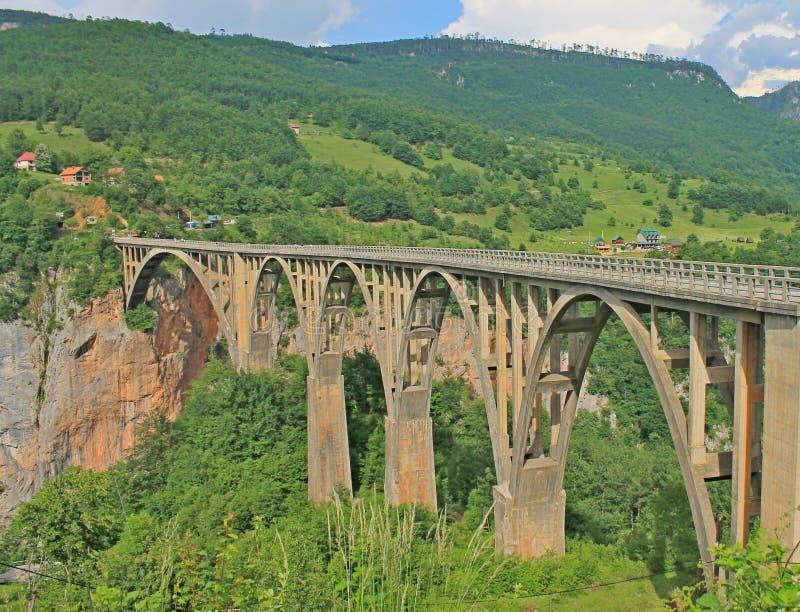 ‡ Do eviÄ do ` do urÄ do  de Ä uma ponte, Tara Canyon, Zabljak, ‡ а do ² Ð¸Ñ do 'Д журÐ'жеРdo  Ñ do ¾ Ñ do ¼ Ð de Ð imagens de stock