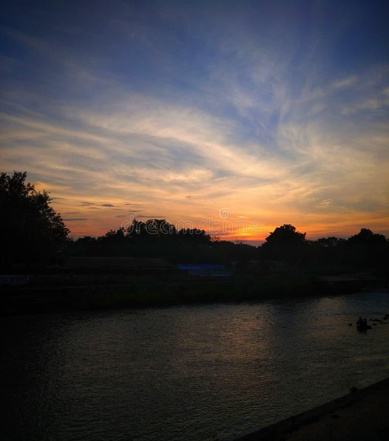 ‡ för 🌠för 🌇 solnedgång, royaltyfri fotografi