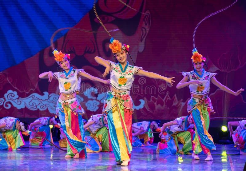 ‰ Del ¼ del ˆoneï del ¼ de Qiao Hua Danï - papel de la cerveza inglesa en danza clásica ópera-china china imagen de archivo libre de regalías