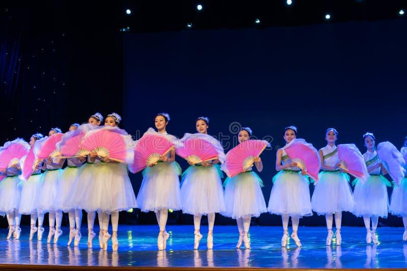 ‰ Do ¼ do ˆcollectiveï do ¼ de Jasmine Flowersï - bailado nacional chinês fotografia de stock