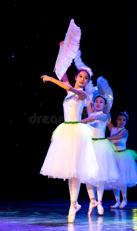 ‰ Do ¼ do ˆoneï do ¼ de Jasmine Flowersï - bailado nacional chinês imagens de stock royalty free