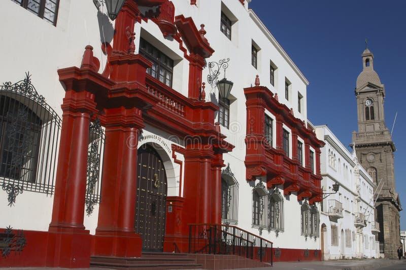 ‹Del †del ‹del †de la ciudad del La Serena Chile imagen de archivo