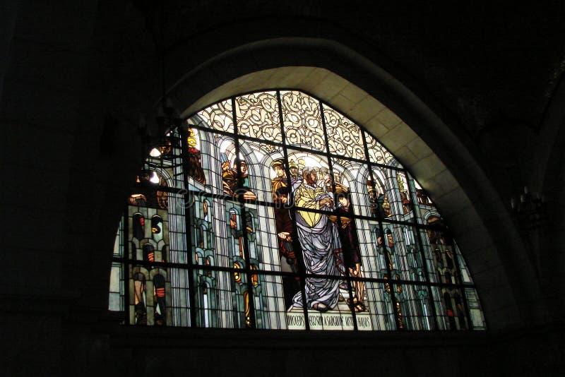 ‹Del †del ‹del †de la ciudad de Jerusalén Israel Panorama de la arquitectura religiosa de la vieja parte de la ciudad imagen de archivo libre de regalías