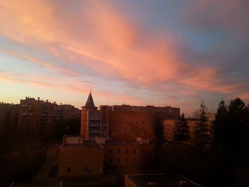‹Del *â- de la puesta del sol * fotos de archivo libres de regalías
