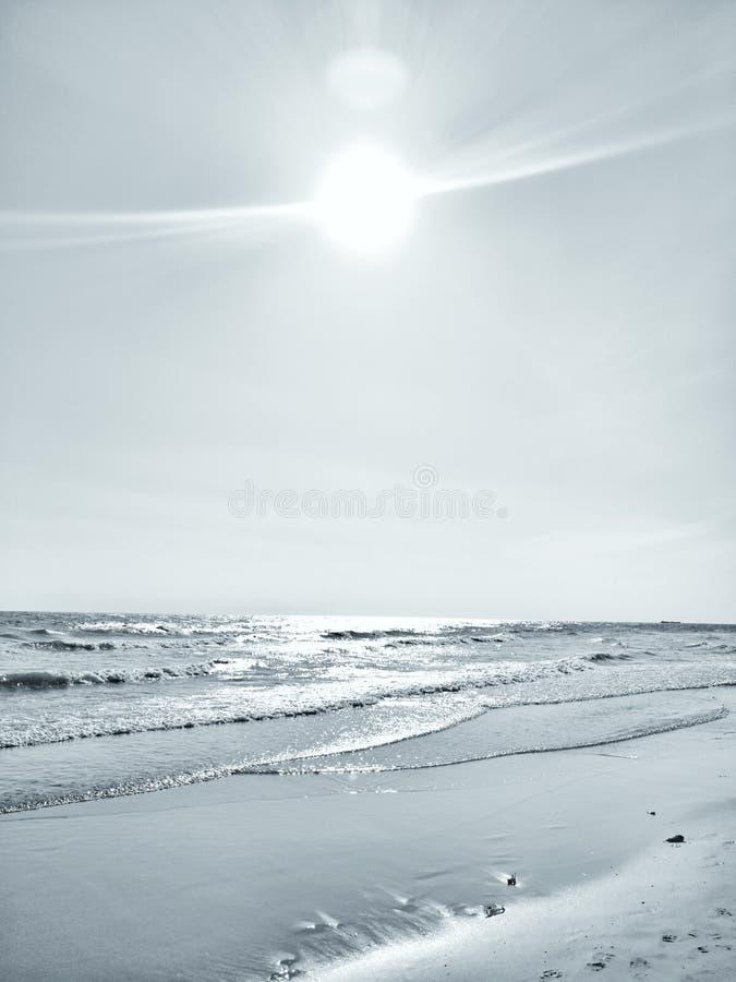 ‹Del waves†del ‹del calm†del ‹del sea†del ‹de The†imagen de archivo