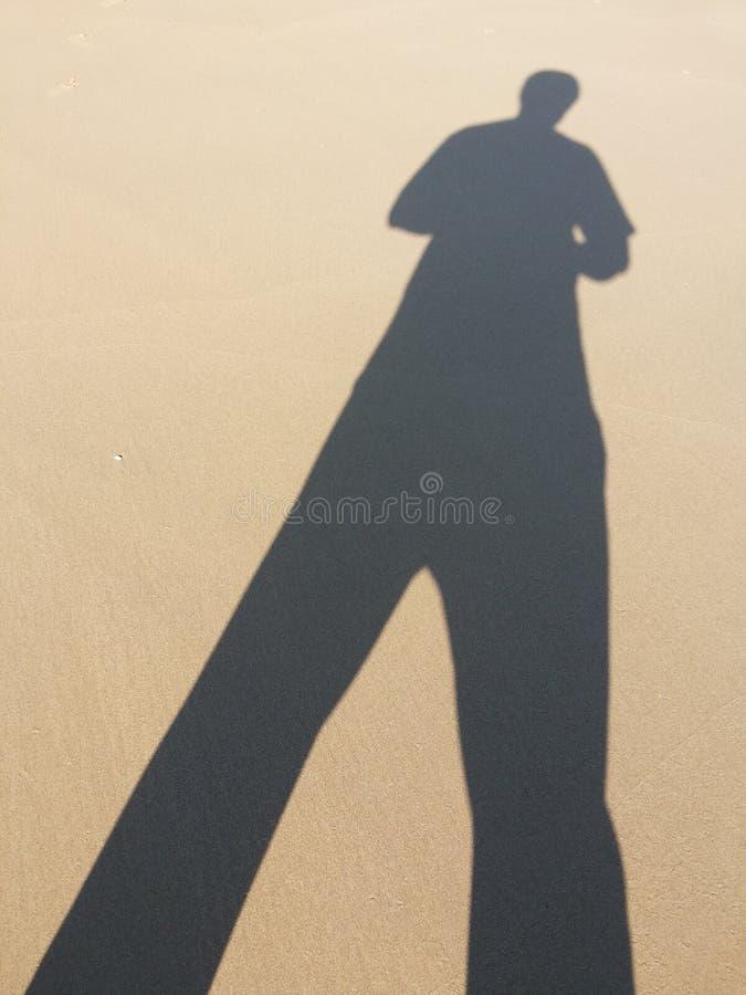 ‹Jinn Sand Shadow de ¹ d'à photographie stock