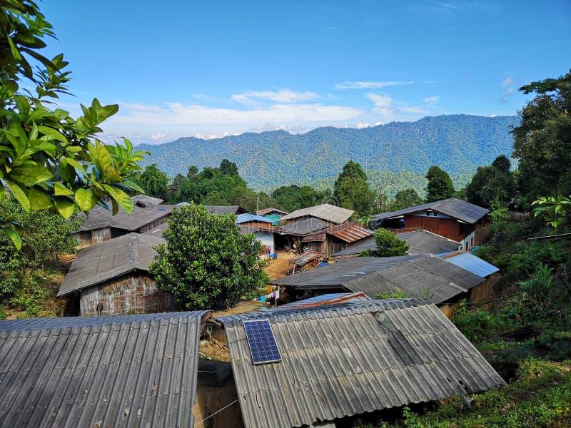 ‹Suburbano de Thailand†del ‹de Chiangmai†del ‹del of†del ‹del area†del ‹del in†del ‹del village†del ‹del small†del  foto de archivo libre de regalías