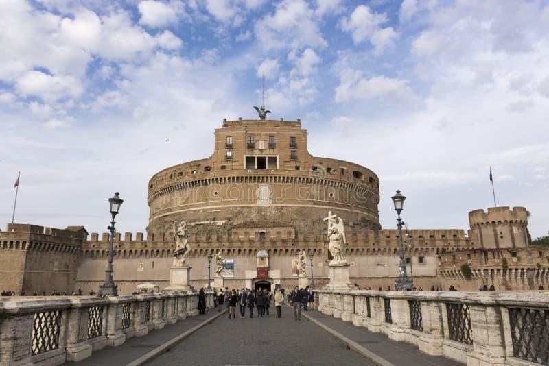€™Angelo de Castel Santâ foto de archivo libre de regalías