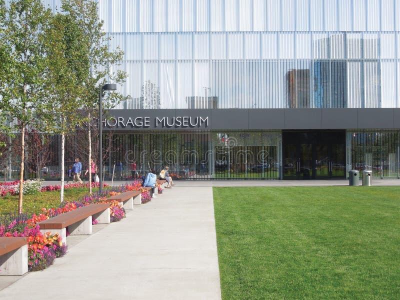"""€"""" Anchorage, Alaska del museo de Anchorage foto de archivo libre de regalías"""