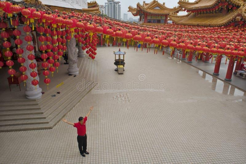 """€ de KUALA LUMPUR, MALASIA """"24 de enero de 2011 el templo de Thean Hou imágenes de archivo libres de regalías"""