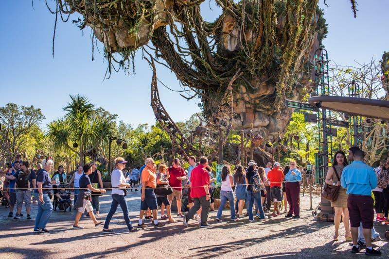 """€ de Pandora """"el mundo de Avatar en el reino animal en Walt Disney World imagenes de archivo"""