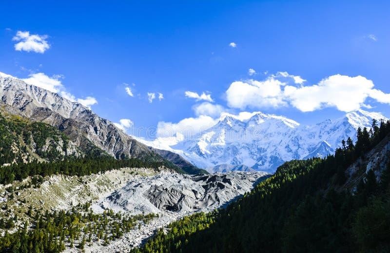 € di Nanga Parbat «la montagna dell'uccisore fotografie stock