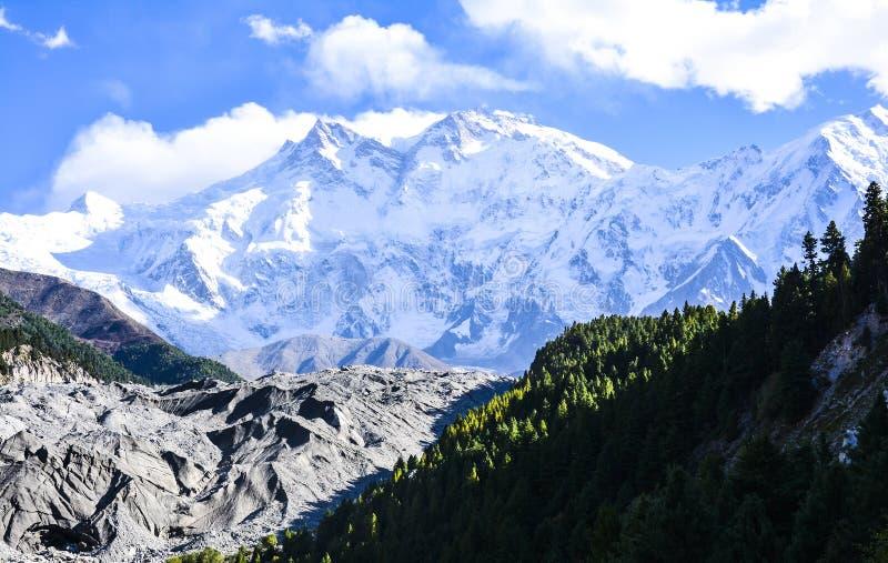 € di Nanga Parbat «la montagna dell'uccisore fotografia stock