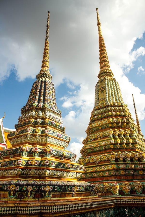 """€ di Wat Pho """"il più vecchio tempio a Bangkok, Tailandia fotografia stock libera da diritti"""