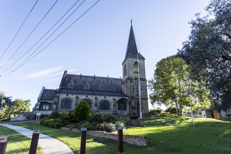 "€ Wagga Wagga ""St. John Evangelist Anglican Church stockfotografie"