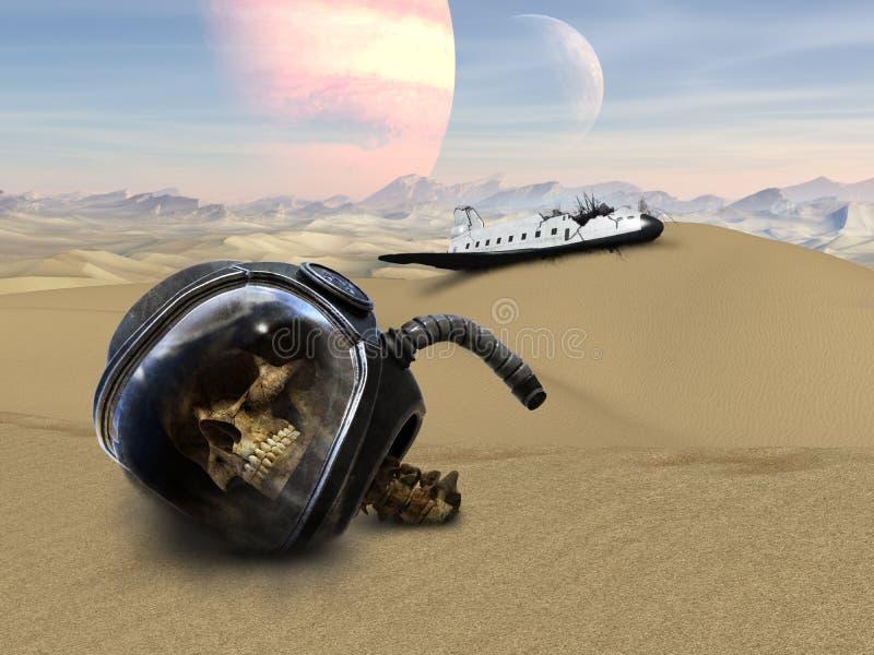 《太空船,外星人》 免版税库存照片