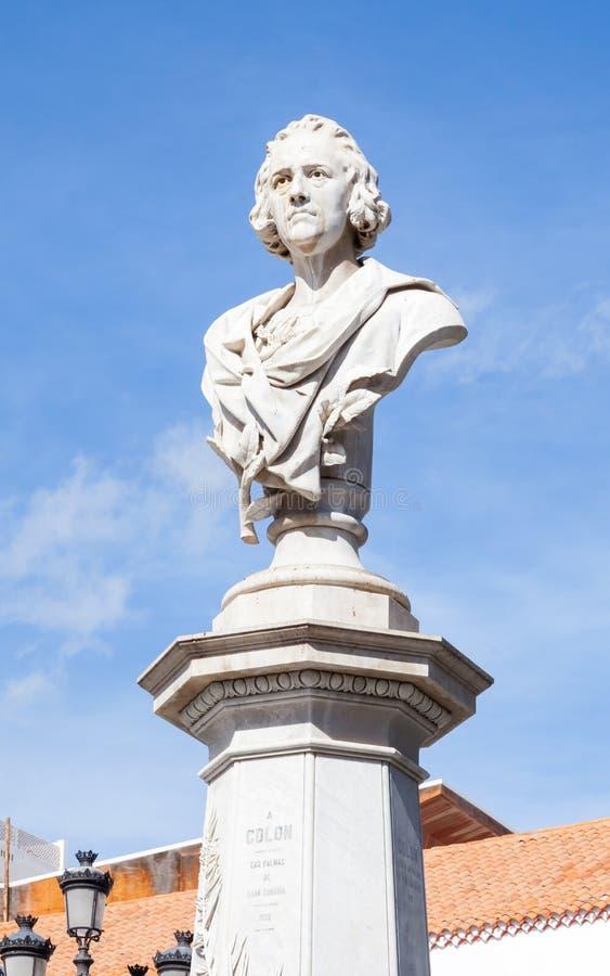 ・克里斯托弗哥伦布纪念碑 免版税库存图片