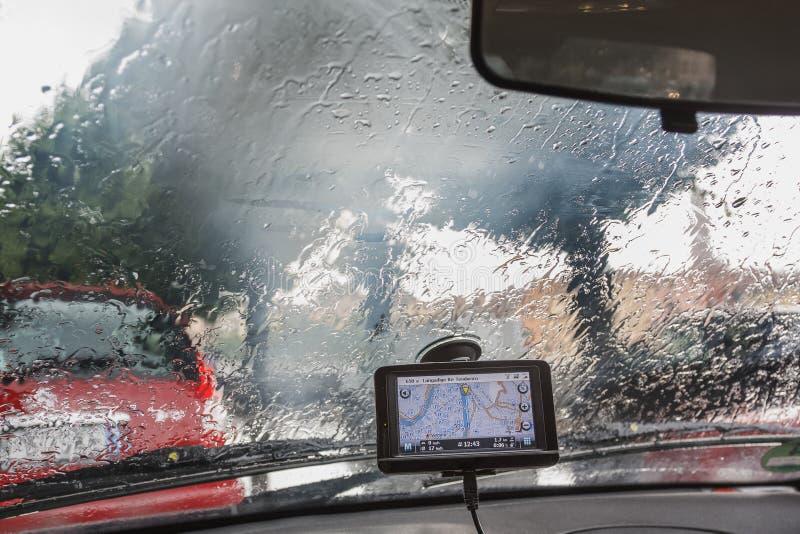 一下雨天在维罗纳 免版税图库摄影