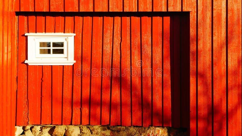 一个传统建筑的木墙壁 免版税库存图片