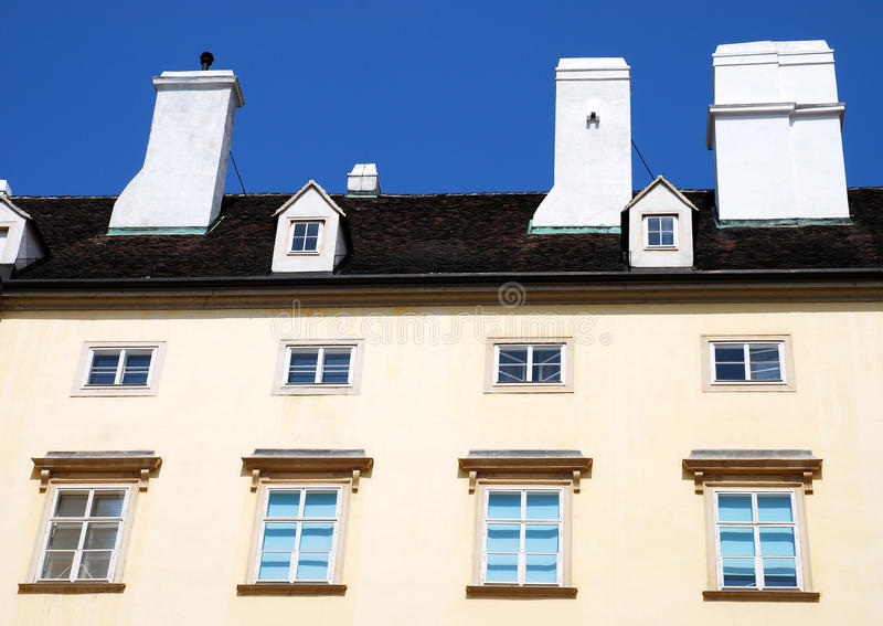 一个公寓在维也纳,奥地利 免版税库存照片