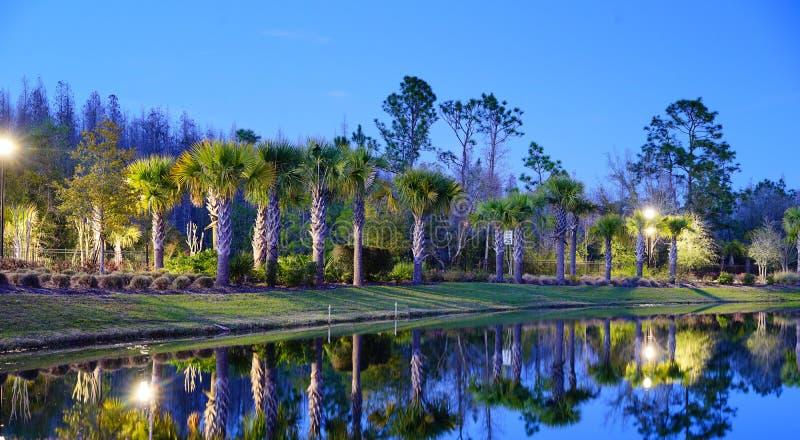 一个典型的佛罗里达房子 免版税库存照片