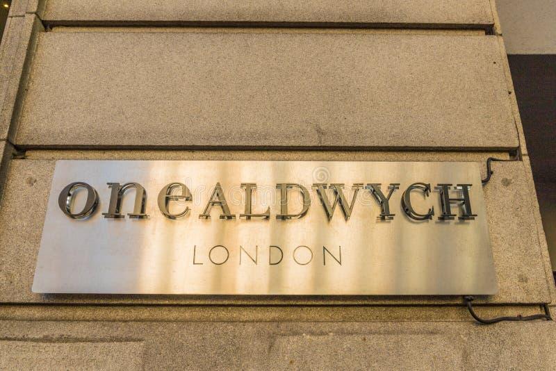 一个典型的看法在伦敦 库存照片