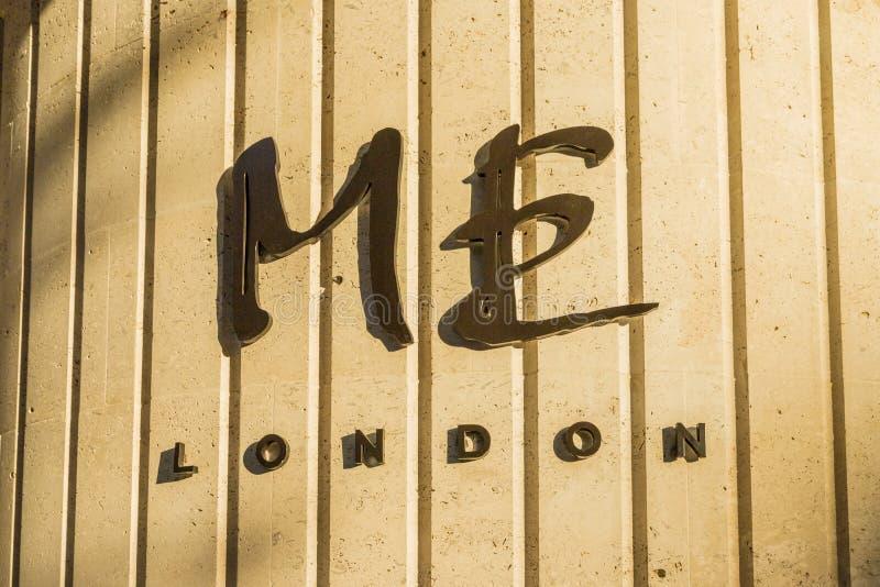 一个典型的看法在伦敦 库存图片
