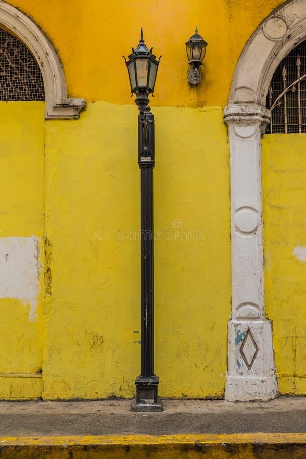 一个典型的看法在巴拿马城在巴拿马 免版税图库摄影