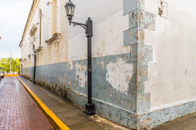 一个典型的看法在巴拿马城在巴拿马 免版税库存图片