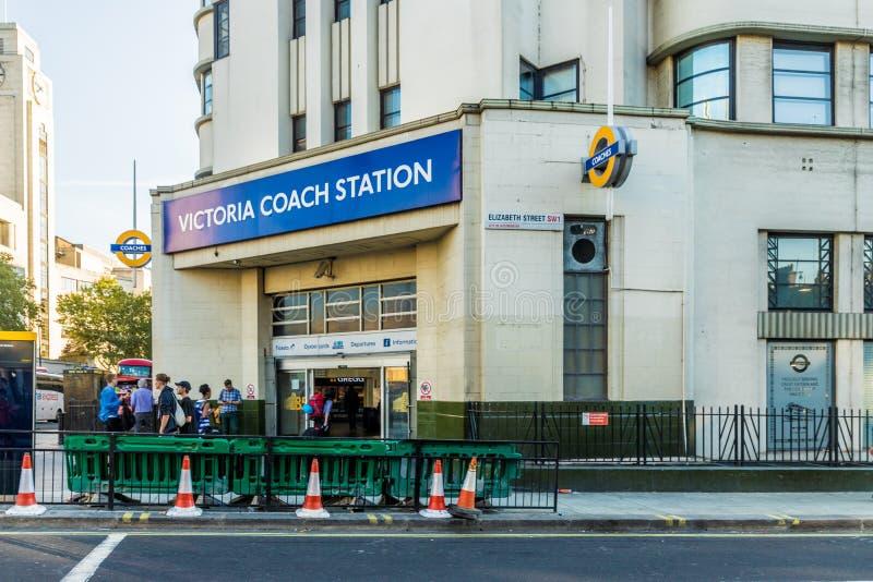 一个典型的看法在维多利亚在伦敦 库存照片