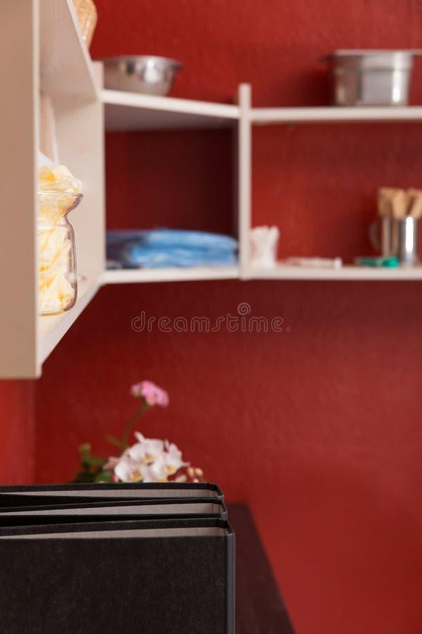 一个医生办公室用设备 免版税库存图片