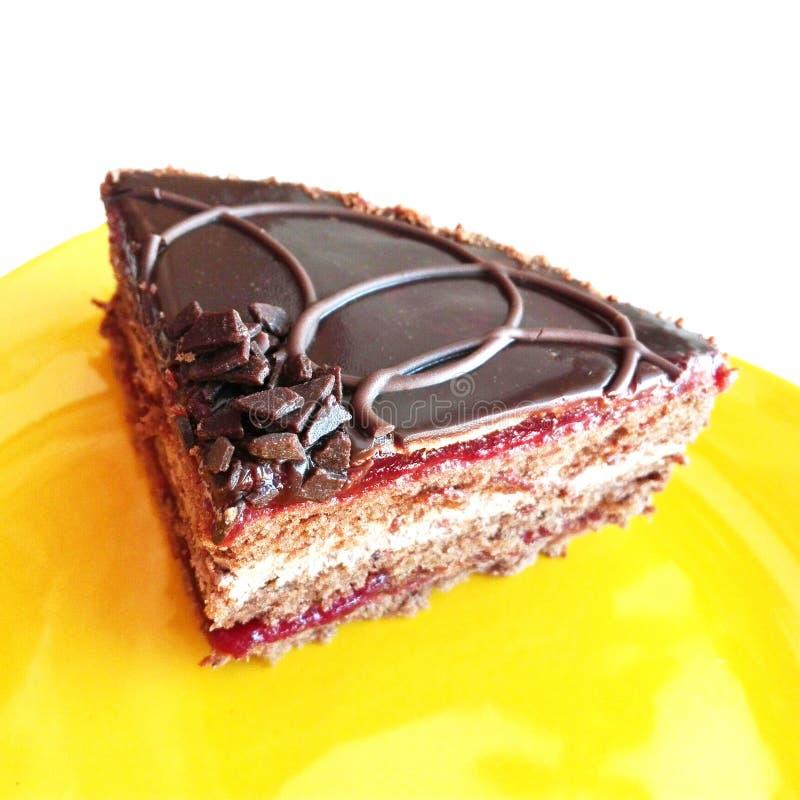 一个可口蛋糕 库存图片