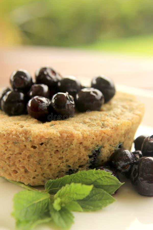 一个周详蓝莓松饼2 库存图片
