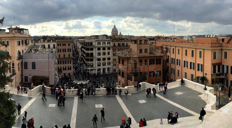 一个地方在罗马 免版税库存照片