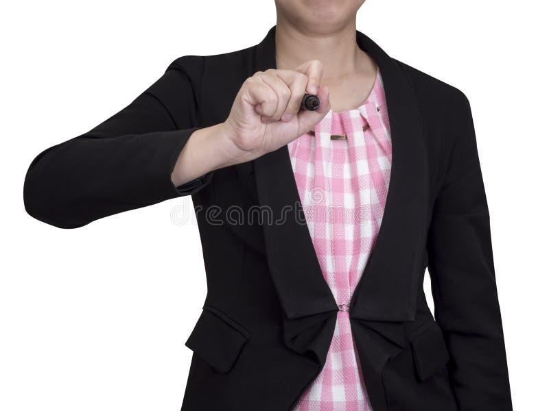 一个女商人12 免版税图库摄影