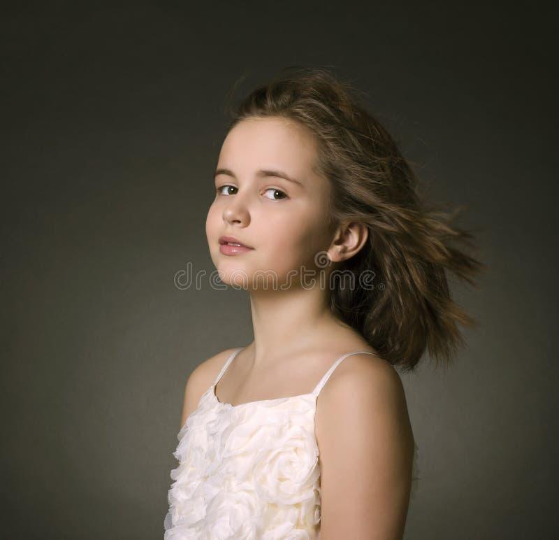 一个女孩的画象 免版税图库摄影