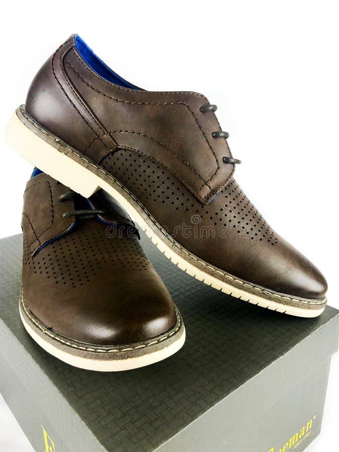 一个对弗里曼人` s鞋子 免版税库存照片