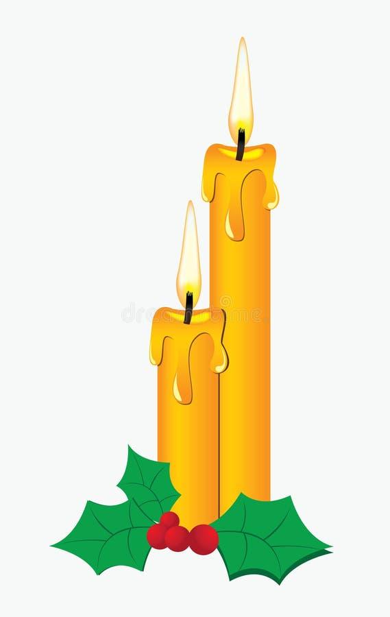 蜡烛 向量例证