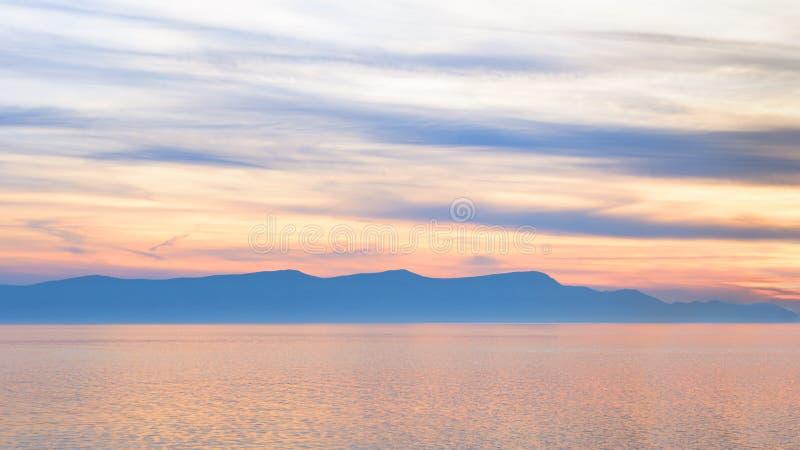 一个小海岛的风景看法 库存图片
