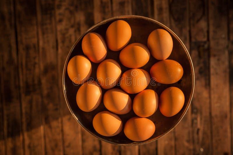 一个小组鸡蛋 库存图片