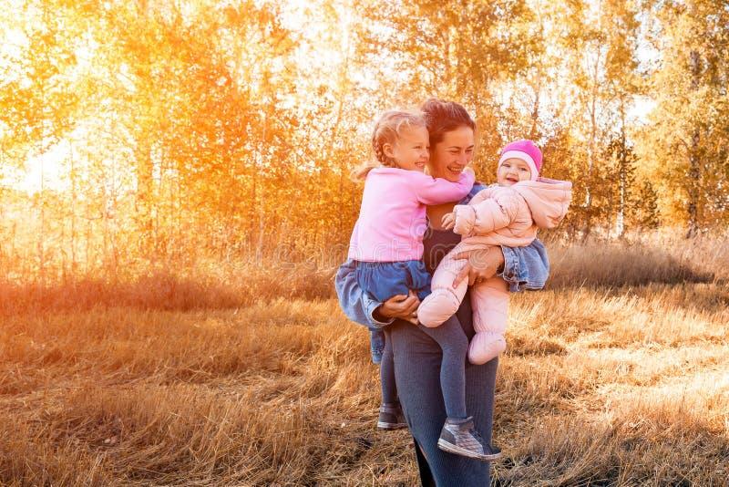 一个年轻女性母亲 库存照片