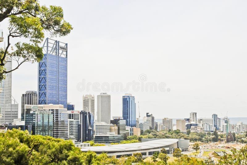 一个引人入胜的澳大利亚风景交错与自然 免版税库存照片