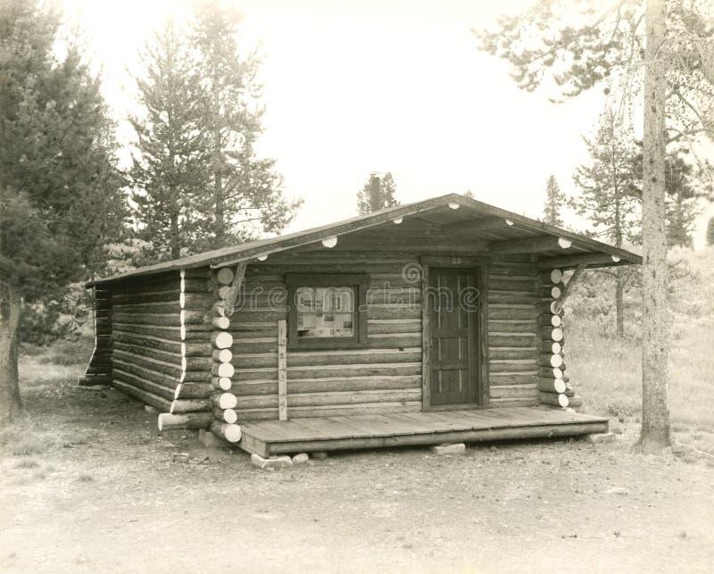 一个房子在国家 库存图片