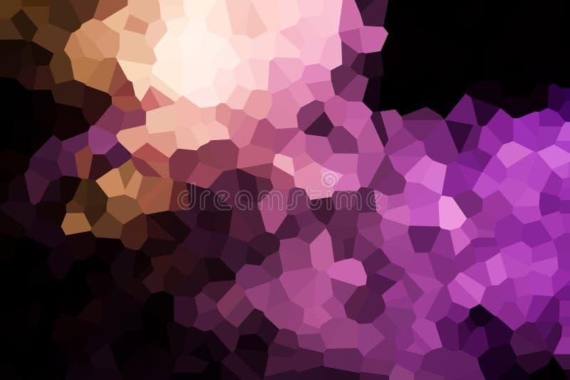 一个抽象几何样式的照片 向量例证