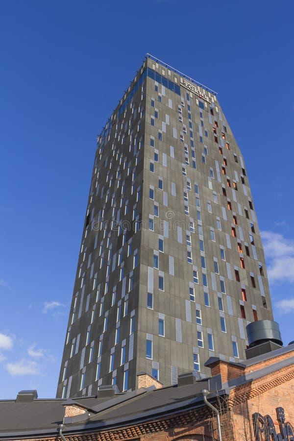 一个新的旅馆大厦 免版税库存图片