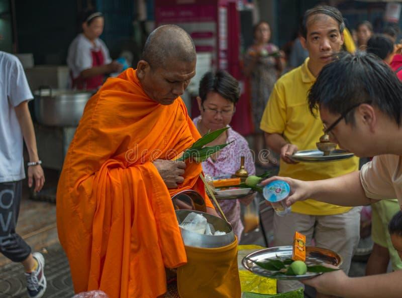 一个早晨,曼谷,泰国 库存图片