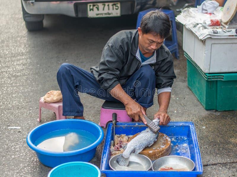 一个早晨,曼谷,泰国 免版税库存图片