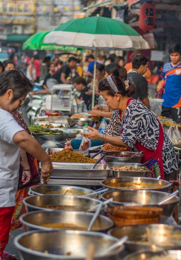 一个早晨,曼谷,泰国 免版税库存照片