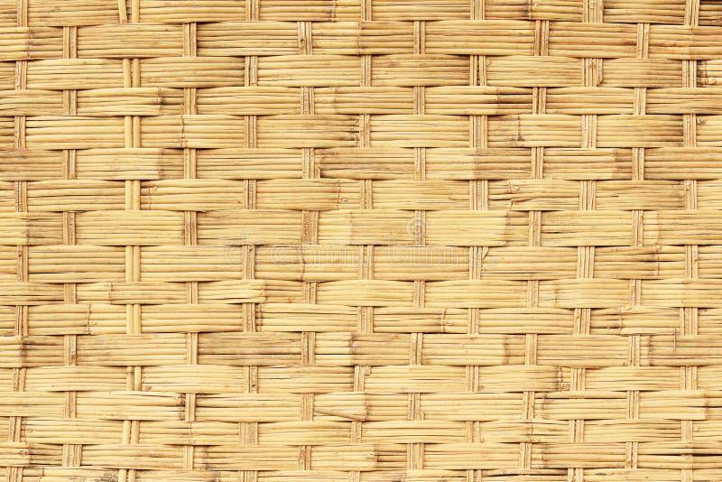 一个柳条筐的纹理,背景 库存照片
