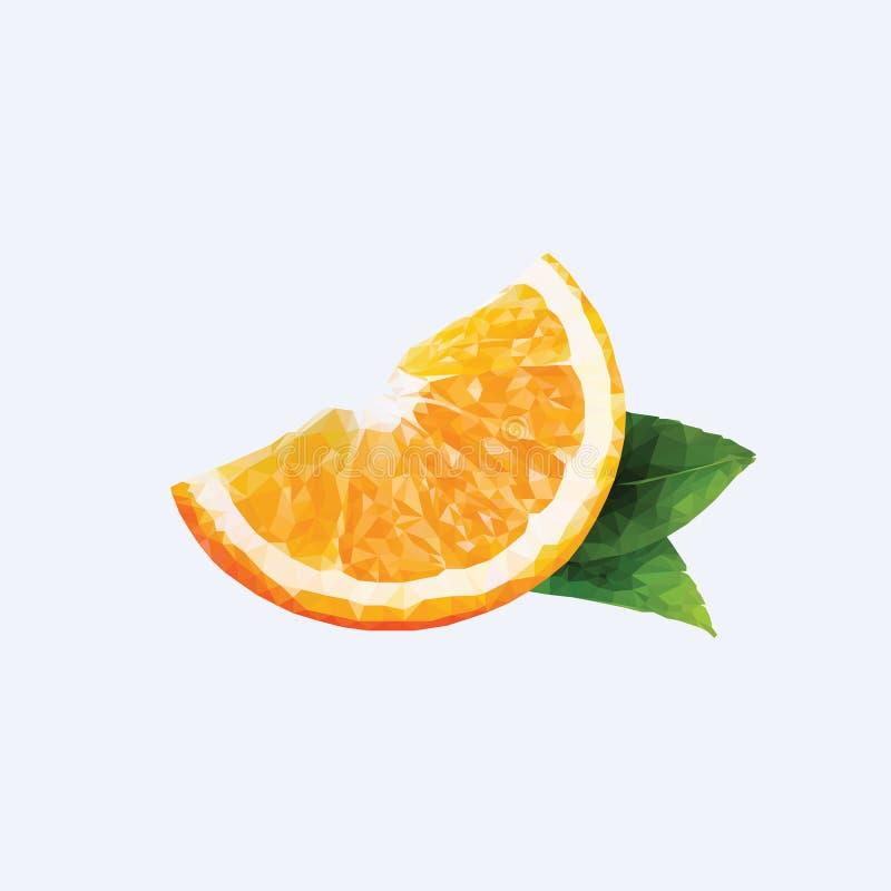 一个桔子 免版税库存照片